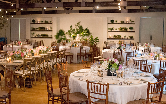 Cannon Green Charleston Trolley Room Wedding Reception